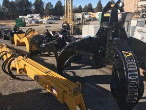 Builtrite excavator claw attachments