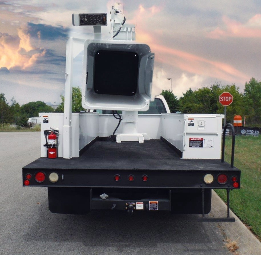 back view of Bucket Truck for Sale from Utility Equipment Service in Spring Hill TN