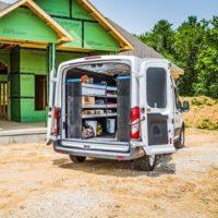 Sotimo Van shelving and storage